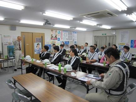 北海道新幹線の施工現場見学会