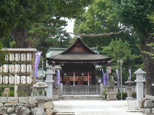 ヨドといえばヨド神社